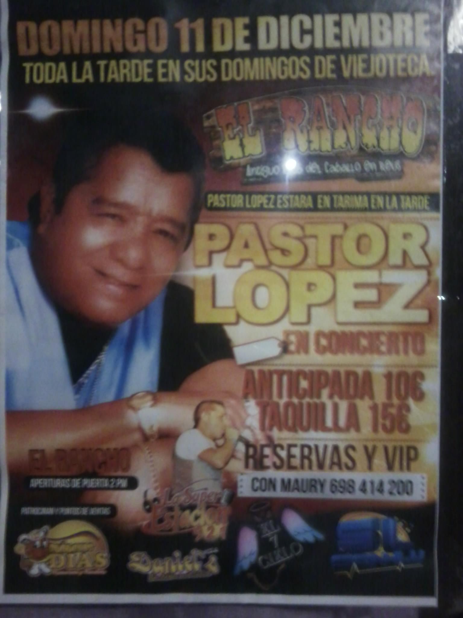 Pastor López - Amigo
